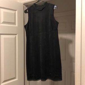 Jessica Simpson Charcoal Work Dress